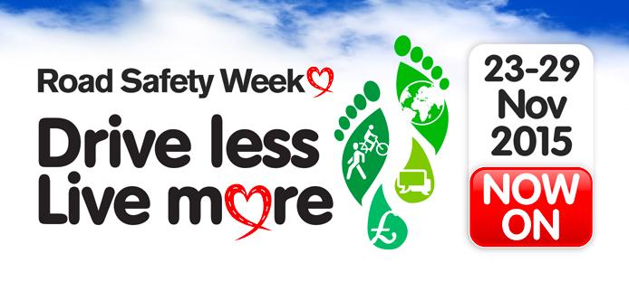 Drive Less – Live More!
